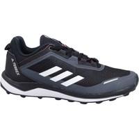 Boty Děti Běžecké / Krosové boty adidas Originals Terrex Agravic Flow K Černé, Tmavomodré