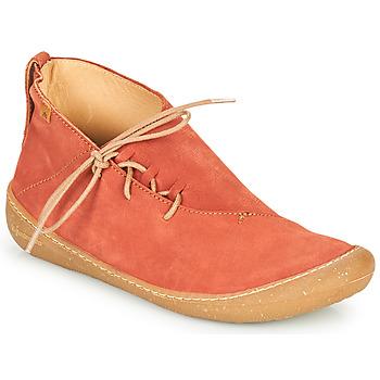 Boty Ženy Kotníkové boty El Naturalista PAWIKAN Červená
