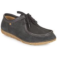 Boty Kotníkové boty El Naturalista REDES Černá