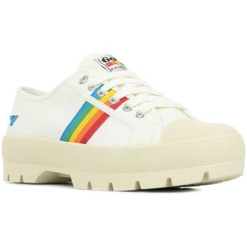 Boty Ženy Nízké tenisky Gola Coaster Peak Rainbow Bílá