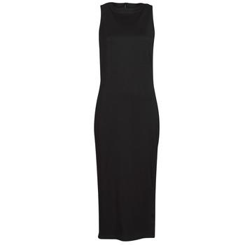 Textil Ženy Krátké šaty Karl Lagerfeld KITTED WRAP DRESS Černá