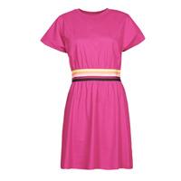 Textil Ženy Krátké šaty Karl Lagerfeld LOGO TAPE JERSEY DRESS Růžová