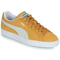 Boty Nízké tenisky Puma SUEDE Žlutá / Bílá