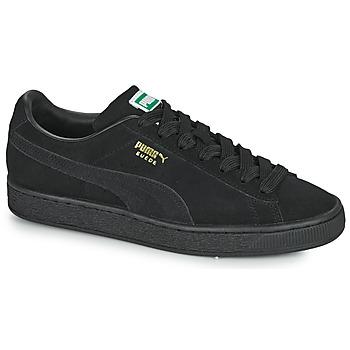 Boty Nízké tenisky Puma SUEDE Černá
