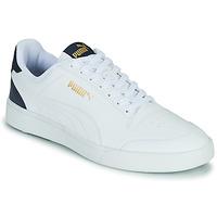 Boty Muži Nízké tenisky Puma SHUFFLE Bílá / Modrá