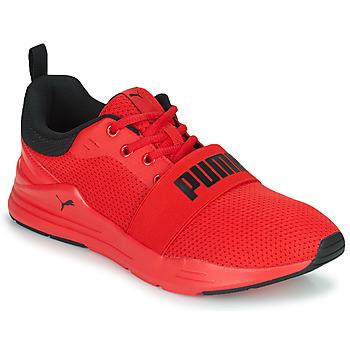Boty Muži Nízké tenisky Puma WIRED Červená / Černá