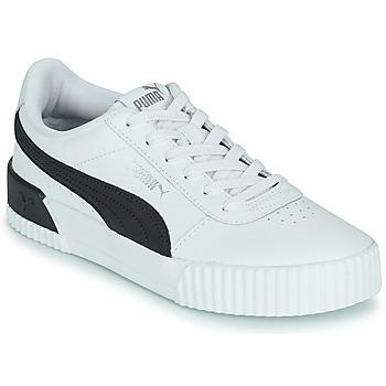 Boty Ženy Nízké tenisky Puma CARINA Bílá / Černá