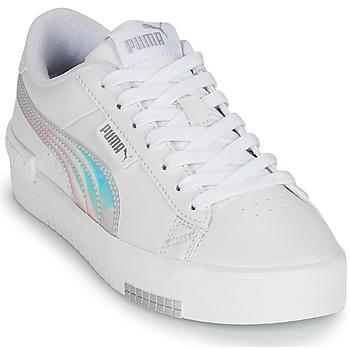 Boty Dívčí Nízké tenisky Puma JADA RAINBOW JR Bílá