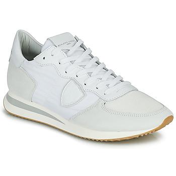 Boty Muži Nízké tenisky Philippe Model TRPX LOW BASIC Bílá