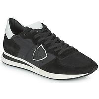 Boty Muži Nízké tenisky Philippe Model TRPX LOW BASIC Černá