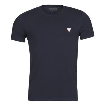 Textil Muži Trička s krátkým rukávem Guess CN SS CORE TEE Tmavě modrá