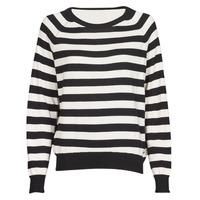 Textil Ženy Svetry Guess IRENE RN LS SWTR Černá / Bílá