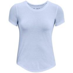 Textil Ženy Trička s krátkým rukávem Under Armour Streaker Run Modré