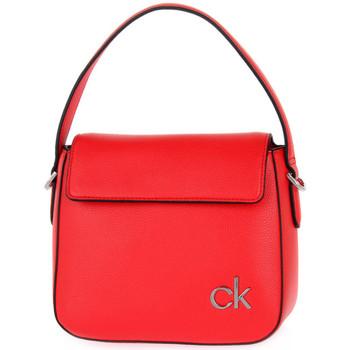 Taška Ženy Kabelky s dlouhým popruhem Calvin Klein Jeans XA7 HOBO Rosso