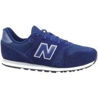 Boty Děti Nízké tenisky New Balance 373 Modré