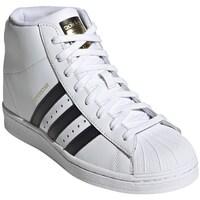 Boty Ženy Kotníkové tenisky adidas Originals Superstar UP W Bílé
