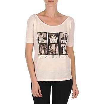 Textil Ženy Trička s krátkým rukávem Bench CREEPTOWN Růžová