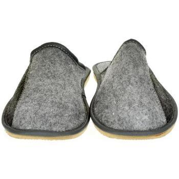 Boty Muži Papuče Just Mazzoni Pánske sivé papuče HENRIK sivá