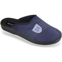 Boty Muži Papuče Mjartan Pánske modré papuče  FILIP tmavomodrá