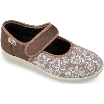 Boty Ženy Papuče Mjartan Dámske béžové papuče  NATAŠA béžová