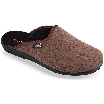 Boty Ženy Papuče Mjartan Pánske papuče  NERO hnedá