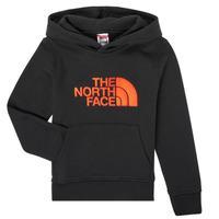 Textil Chlapecké Mikiny The North Face DREW PEAK HOODIE Černá