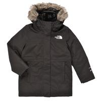 Textil Dívčí Parky The North Face ARCTIC SWIRL PARKA Černá