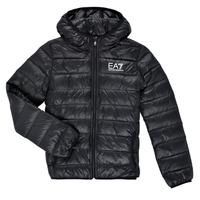 Textil Chlapecké Prošívané bundy Emporio Armani EA7 ANISTA Černá