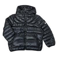 Textil Chlapecké Prošívané bundy Emporio Armani EA7 FHALIA Černá