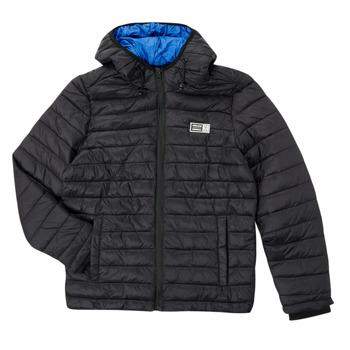 Textil Chlapecké Prošívané bundy Deeluxe MITCHUM Černá