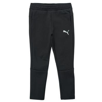 Textil Chlapecké Teplákové kalhoty Puma EVOSTRIPE PANT Černá