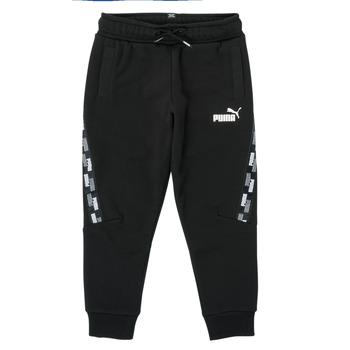 Textil Chlapecké Teplákové kalhoty Puma PUMA POWER TAPE PANT Černá