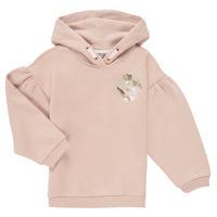 Textil Dívčí Mikiny Puma ALPHA HOODIE Růžová