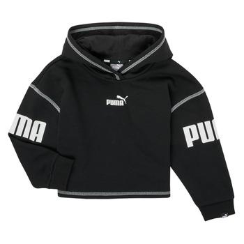 Textil Dívčí Mikiny Puma PUMA POWER HOODIE Černá