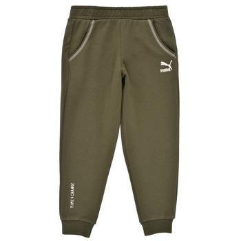 Textil Chlapecké Teplákové kalhoty Puma T4C SWEATPANT Khaki