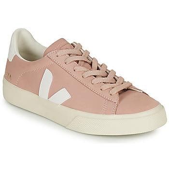 Boty Ženy Nízké tenisky Veja CAMPO Růžová / Bílá