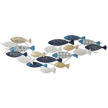 Bydlení Slavnostní dekorace Signes Grimalt Ornament Stěnové Ryby Azul