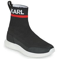 Boty Chlapecké Kotníkové tenisky Karl Lagerfeld PELINDRA Černá