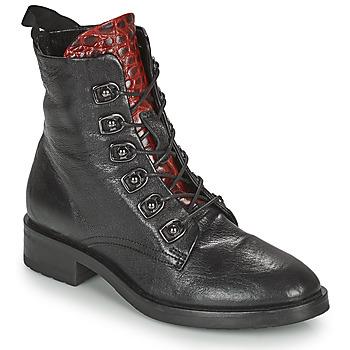 Boty Ženy Kotníkové boty Metamorf'Ose KARDIESSE Černá
