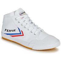 Boty Muži Kotníkové tenisky Feiyue FE LO 1920 MID Bílá / Modrá / Červená