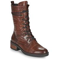 Boty Ženy Kotníkové boty Caprice 25202-351 Zlatohnědá