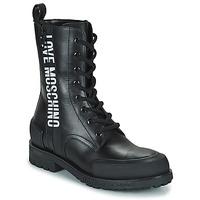 Boty Ženy Kotníkové boty Love Moschino JA24184G1D Černá