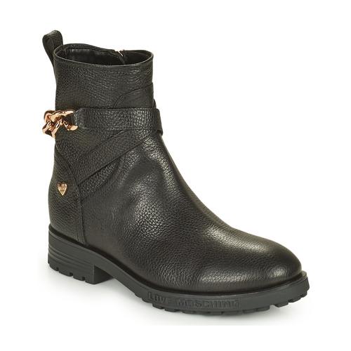 Boty Ženy Kotníkové boty Love Moschino JA21084G1D Černá