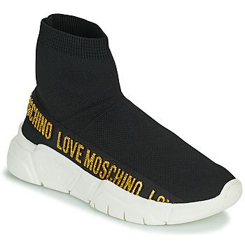 Boty Ženy Kotníkové tenisky Love Moschino JA15633G0D Černá