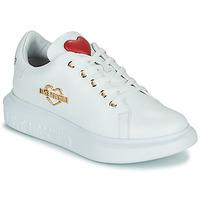 Boty Ženy Nízké tenisky Love Moschino JA15204G0D Bílá