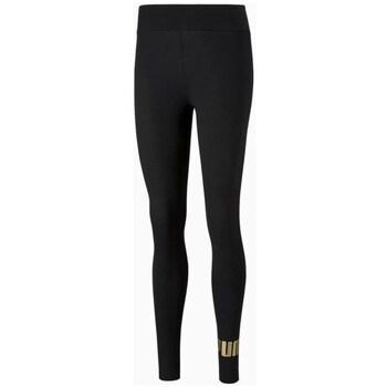 Textil Ženy Legíny Puma Ess Metallic Legg Černé