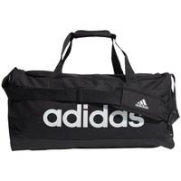 Taška Sportovní tašky adidas Originals Linear Duffel M Bílé, Černé