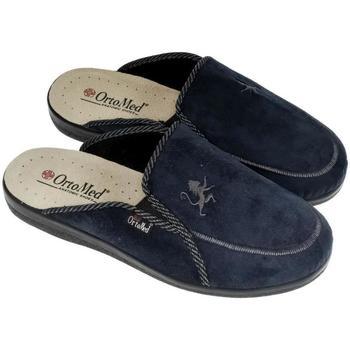 Boty Muži Papuče Mjartan Pánske papuče  DARIUS tmavomodrá