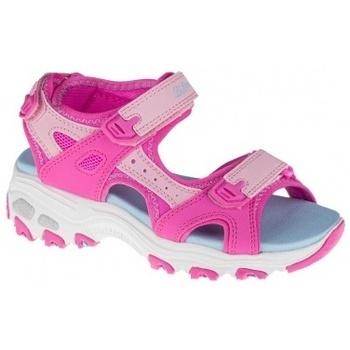 Boty Dívčí Sandály Skechers DLites růžová