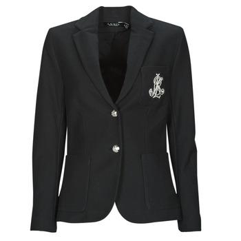 Textil Ženy Saka / Blejzry Lauren Ralph Lauren ANFISA-LINED-JACKET Černá